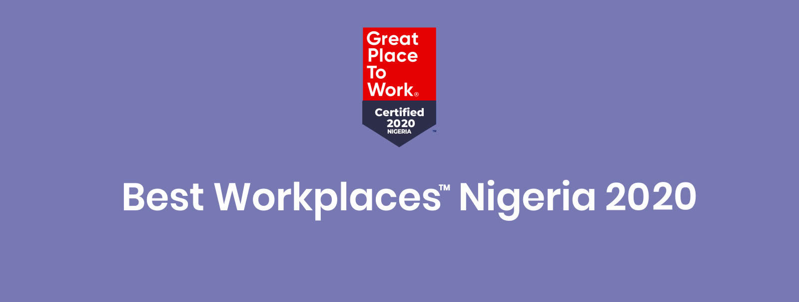 2020 Best Workplaces Nigeria  Apply Now